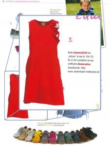 Alsterkind empfiehlt dieses Kleid von jottum für den Sommer, erhältlich im Winterhuder Kindersalon.